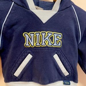Nike 2T sweater with hood and fleece lining. Used.
